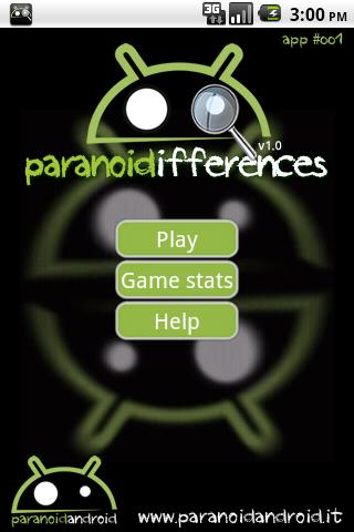 Paranoid Differences - screenshot