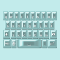 Aqua Pearl Keyboard Skin icon
