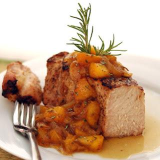 Grilled Brown Sugar-Brined Pork Chops