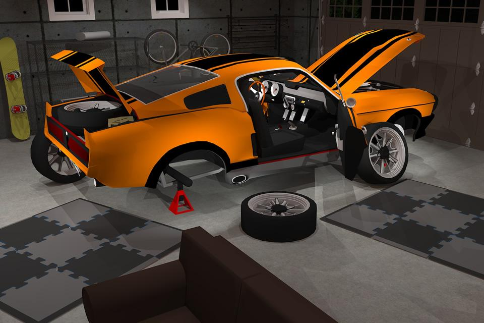 Fix My Car: Classic Muscle Car- screenshot