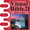 Visual Bible 21 KJV + LDS icon