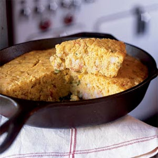 Cajun Crawfish Corn Bread.