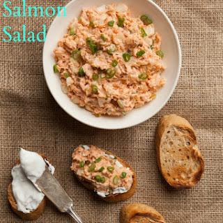 Alaskan Salmon Salad.