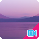 Purple Ocean Live WallPaper icon