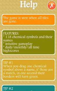 Chemical Symbols Quiz - screenshot thumbnail