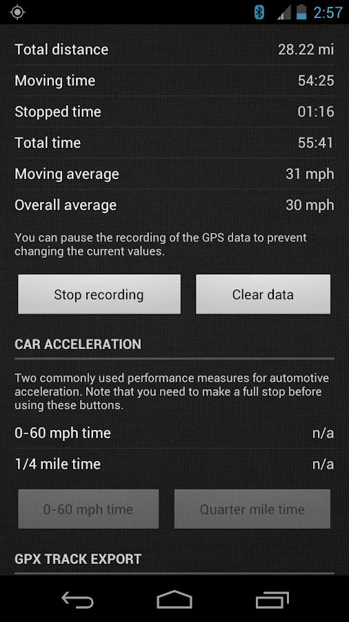 SpeedView: GPS Speedometer- screenshot