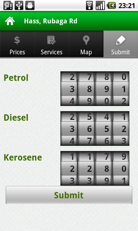 MafutaGO- screenshot