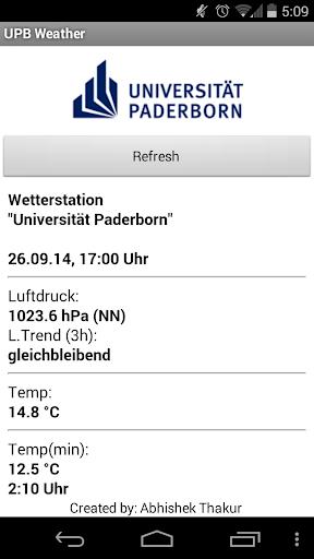 UPB Weather