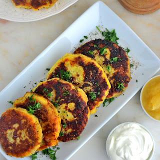 Organic Peppery Potato Pancakes