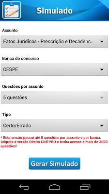 Direito Civil - screenshot