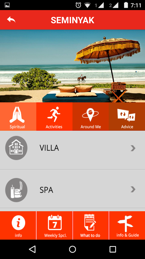 Bali Advisor- screenshot