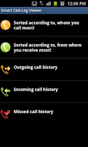 Smart Call-Log Viewer screenshot 2