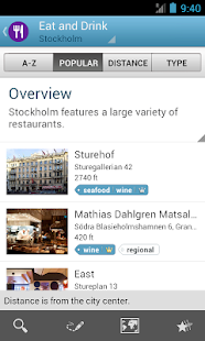 Stockholm Travel Guide Triposo - screenshot thumbnail