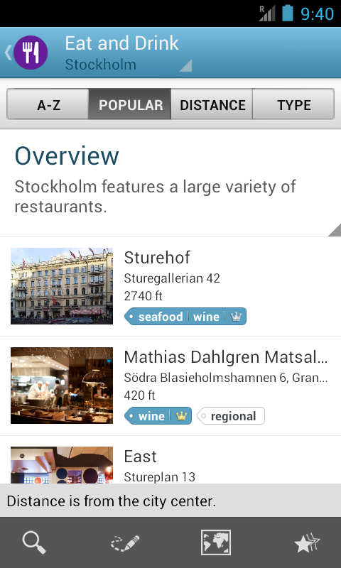 Stockholm Travel Guide Triposo- screenshot