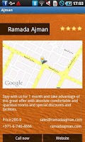 Screenshot of Ajman Travel Guide