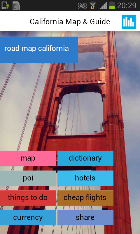 California Offline Road Map Android Apps On Google Play - Us road map offline