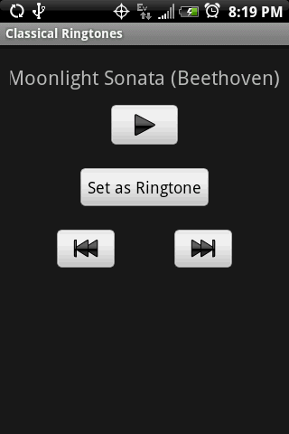 CLASSICAL Ringtones- screenshot