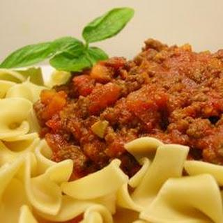 Slow Cooker Bolognese.