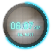 BlueDigital wClock Theme