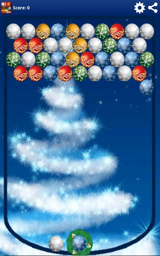 Christmas Balls (bubbles) - screenshot