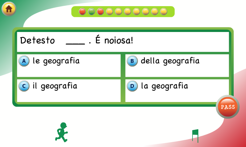 Linguatrivia Italian- screenshot