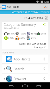 App Habits- screenshot thumbnail
