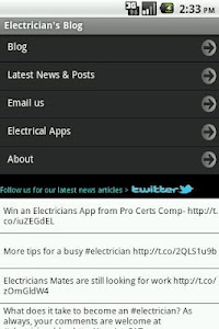 Electrician's Blog screenshot 6