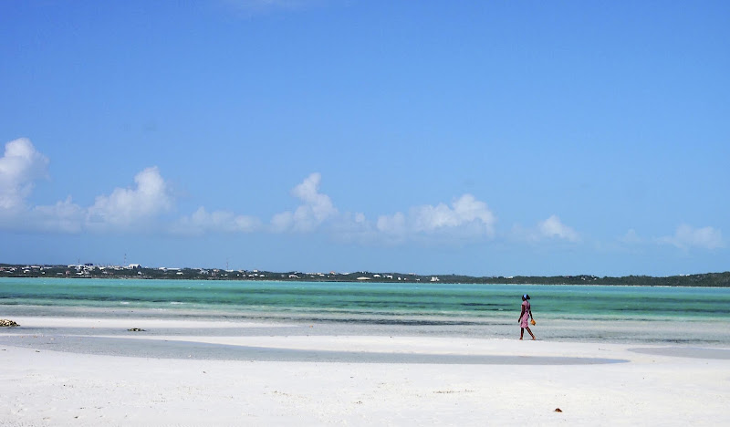 Grace Bay on Providenciales inTurk and Caicos.