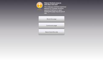 Screenshot of Security - Business