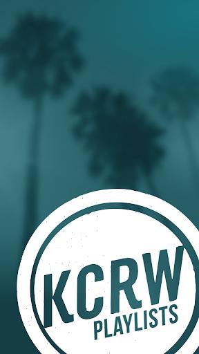 KCRW Playlists