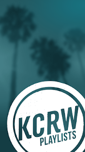 KCRW Playlists - screenshot thumbnail