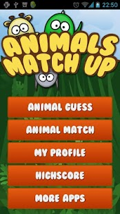 Animals MatchUp & Guess Game - screenshot thumbnail