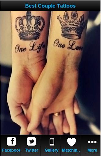 Best Couple Tattoos