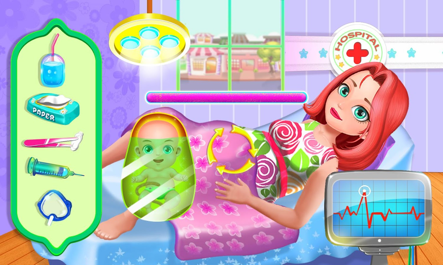Pregnant Baby Games 36