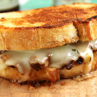 Short Rib and Taleggio Grilled Cheese Sandwich.