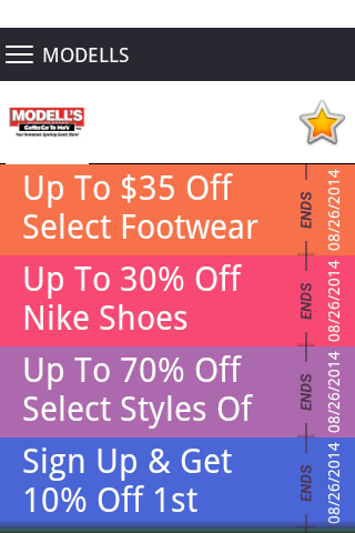 Modells store coupon code