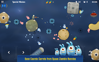Screenshot of Space Bunny Shooter