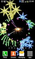 Screenshot of Sparks Analog Diwali Clock