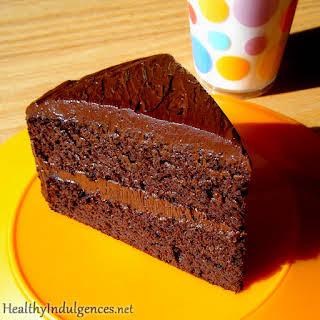 Secret Ingredient Healthy Chocolate Cake.