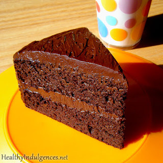 Secret Ingredient Healthy Chocolate Cake.