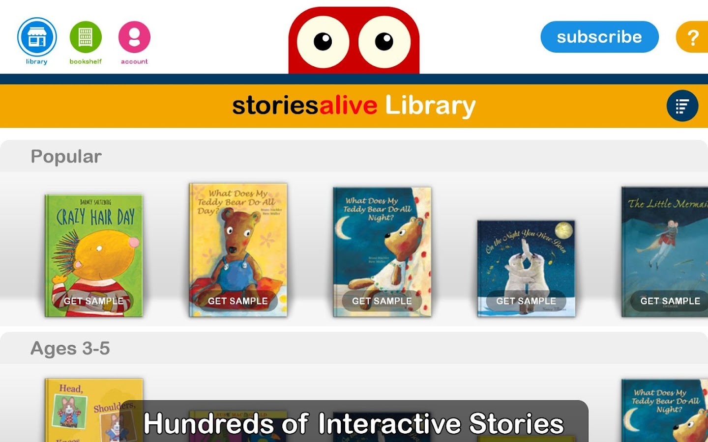StoriesAlive : Picture Books- screenshot