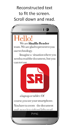 Shuffle Scan PDF Reader - screenshot