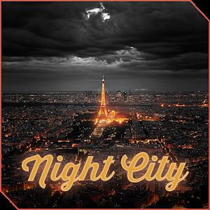 XPERIA™ Theme NightCity