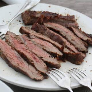Guinness-Marinated Flank Steak.
