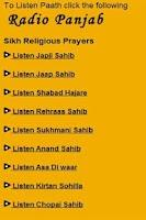 Screenshot of Sikhs Religious prayers