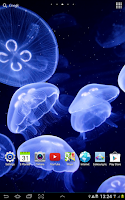 Screenshot of Jellyfish Live Wallpaper