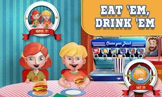 Screenshot of Burger Maker Crazy Chef