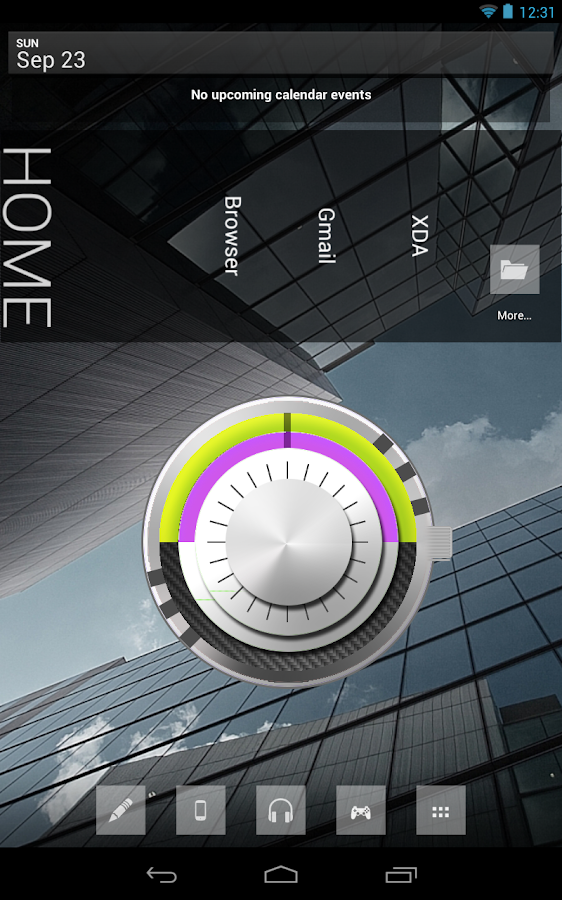 Analog Clock Widget- screenshot