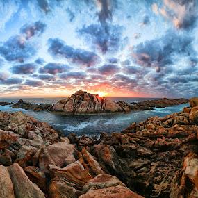 Canal Rocks sunset by Craig Eccles - Landscapes Sunsets & Sunrises ( clouds, canal rocks, ocean., sunset, australia, sunrise, rocks, sun,  )