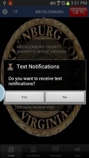 MECKLENBURG COUNTY SHERIFF